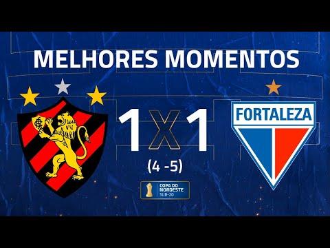 Sport 1 (4) x (5) 1  Fortaleza | Melhores Momentos | QUARTAS DE FINAL | Copa do Nordeste Sub-20 2020 | 2020-12-21 02:05:43 | бургундский колорист 5d3b