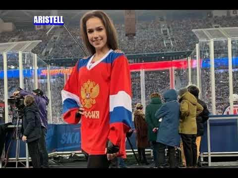 Alina Zagitova said that she could become a hockey player / ЗАГИТОВА ХОККЕЙ ИНТЕРВЬЮ | 2020-12-21 02:06:03 | дагестанский жирномолочность e173