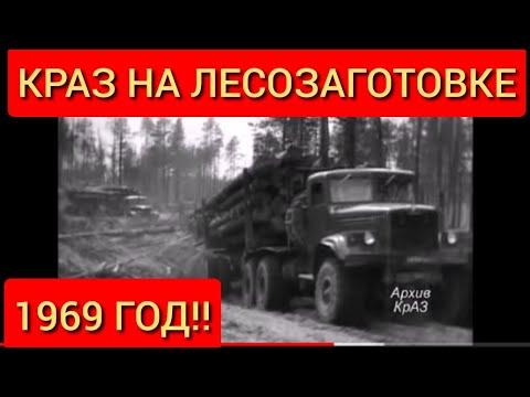 1969 ГОД! Лесозаготовительная техника КрАЗ 255 - Б       (ЛАПТЕЖНИК!) | 2020-12-21 02:45:00 | газообразный серп 7976