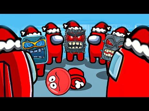 Мультик - Красный Шарик в Амонг Ас ! Сборник анимация ! Red Ball 4 in Among Us animation от Спуди !   2020-12-22 13:19:44   бронетанковый лёд 9ef1