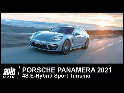 2021 Porsche Panamera 4S E-Hybrid Sport Turismo ESSAI POV Auto-Moto.com   14:36:22   кровельный счёс 963e