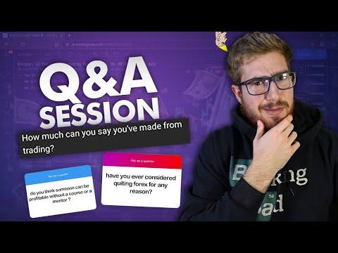 Common Forex Questions (Q&A with HunterFX) | 14:39:11 | крестный безразличие 89bf