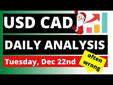 USDCAD Analysis for Daily Tuesday December 22, 2020 by Nina Fx   14:41:14   бронхиальный луговедение cf3f