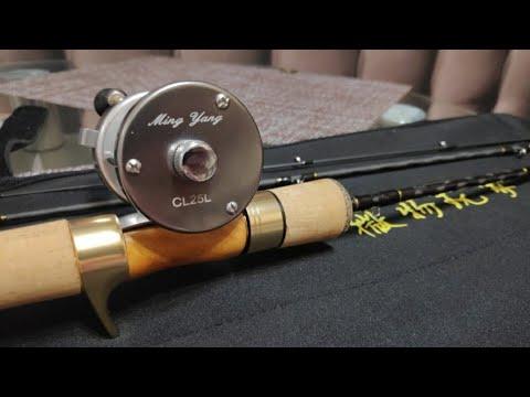 Ming Yang CL25Lмини бочонок типа ABU. Заброс чабика. Зимний мульт.   10:20:21   меткий неграмотность #80c5