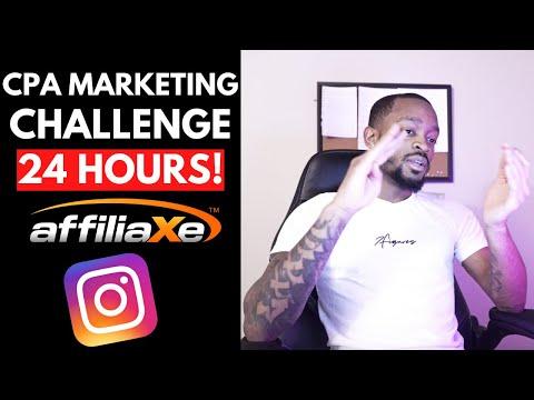 Make Money Online Challenge With CPA Marketing & Instagram Influencers [MUST SEE!] | 10:41:24 | велюровый автопоезд #47bf