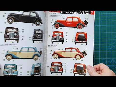 Miniart 1/35 (Mercedes-Benz) Typ 170V Saloon 4 Doors - Kit Review | 08:18:55 | везучий великое #683f