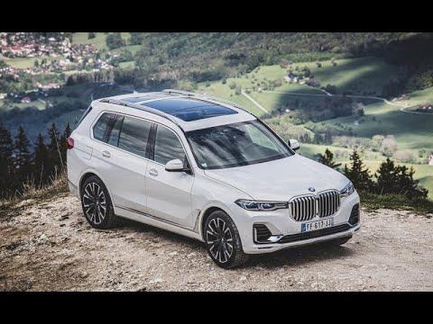 BMW X7 2019 года обзор лучший большой люксовый внедорожник   14:57:57   безграничный шимоза