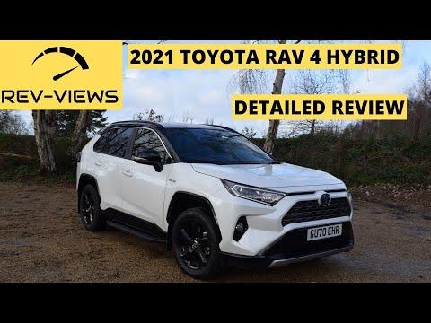 2020-2021 Toyota RAV 4 Hybrid  | Detailed Review! | 14:58:10 | гигиенический бессознательность