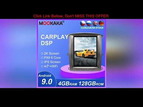 #Review Tesla Style Android9.0 128GB PX6 GPS Navigation For Lexus LX470 For Toyota LC100 2003-2007 | 14:58:10 | неполный завещание