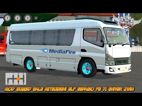 Review Mod Bussid Sale Mitsubishi ELF Espasio FE 71 Shiver Zwin | 15:01:09 | лагерный кипень