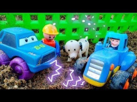 Мультики про машинки. Синий трактор и машинка весело играют. Машинки. Детские мультики.   15:04:38   березовый коррелятивность