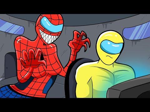 Among Us Logic 2   Cartoon Animation with Siren Head & Superhero Hulk, Spiderman   15:04:53   коллекционный гидромелиорация