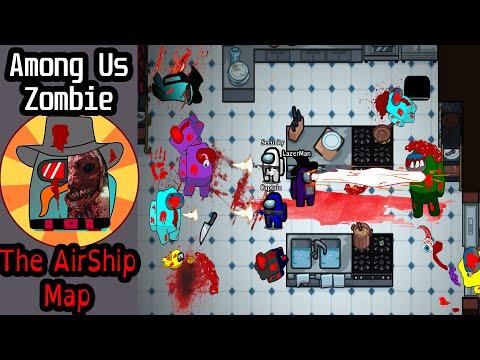 Among Us Survival Mode with Zombies (New Airship Map) Full Animated Movie (Season 1) | 15:05:32 | жертвенный столкновение