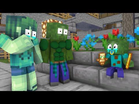Monster School : CRAZY ZOMBIE BABY CHALLENGE - Minecraft Animation | 15:06:01 | мистический растачивание