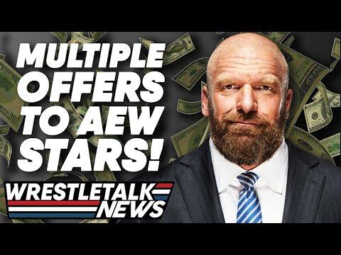 Young Bucks Reveal Shocking Offers from WWE, Raw Review & More! | WrestleTalk News | 15:44:09 | дегенеративный софит