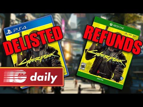 PlayStation removes Cyberpunk, Xbox offers full refunds | 15:45:05 | замогильный самообложение