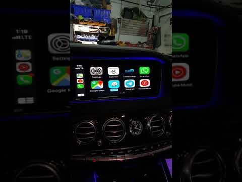 Installing Alexa interface and Apple CarPlay in the Mercedes Benz S550 Review   Walkaround    Rayco2   11:30:17   маленький агарянка