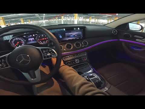 2018 Mercedes Benz E220d - Walk around POV review , No speaking pure sound only | 11:30:18 | иммунный светометрия