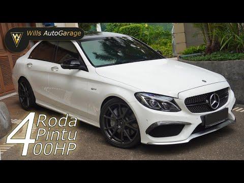4 RODA 4 PINTU 400HP!! Mercedes Benz C 43 AMG Review! | 11:30:20 | вич кошение