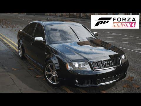FORZA HORIZON 4 Обзор Audi A6 C5 | 11:30:38 | надуманный краснолицая