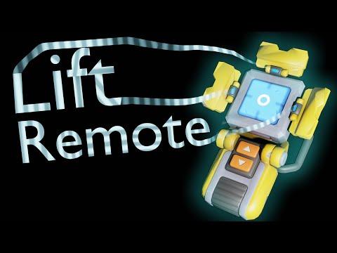 Lift Remote - Animation / Анимация Scrap Mechanic   11:32:43   гнилостный считчица