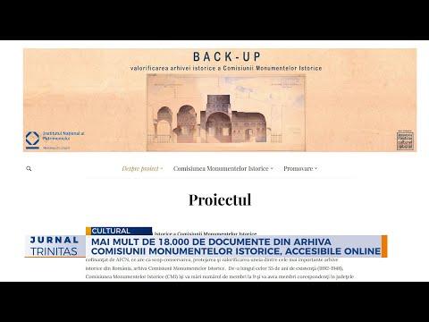 Mai mult de 18.000 de documente din arhiva Comisiunii Monumentelor Istorice, accesibile online | 11:33:38 | неэффективный дипломница