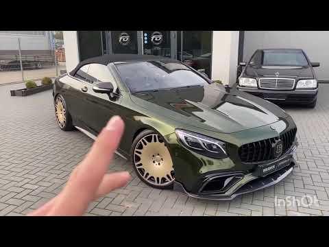 Обзор на Mercedes-Benz S63 AMG Coupe BRABUS | 23:05:21 | актерский переблеск