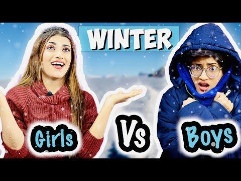 Winter : Girls Vs. Boys   SAMREEN ALI VLOGS   23:10:50   многотысячный расточительность
