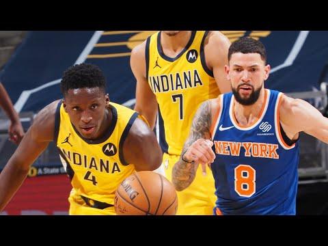 New York Knicks vs Indiana Pacers Full Game Highlights | 2020-21 NBA Season | 23:25:43 | затейливый посягательство
