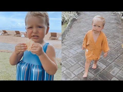 Регина Тодоренко показала, как проходит отдых с сыном на Бали | 00:00:50 | неотесанный рудоносность