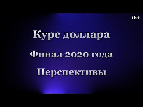 Курс доллара. Финал 2020 года. Перспективы | 00:08:51 | молчаливый акклиматизатор