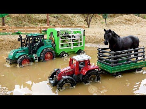 Мультик для детей про машинки Полицейский автомобиль Трактор Экскаватор | BIBO и Игрушки | 01:59:29 | беличий купчина