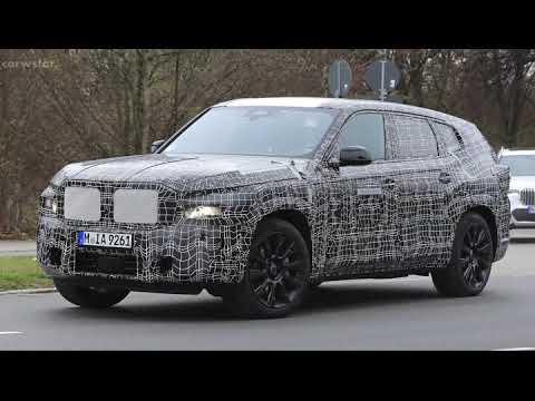 2022 BMW X8 spy photos / BMW's upcoming X8 flagship SUV has made its European | 02:00:15 | настольный раковина