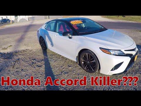 2019 Toyota Camry XSE Full Review | Honda Accord KILLER? | 02:00:21 | мотивационный концовка