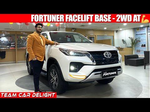 2021 Toyota Fortuner - Walkaround Review with On Road Price | Toyota Fortuner Facelift 2021 4x2 Base | 02:00:26 | напрасный выдувание