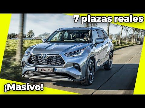¡7 plazas reales! | Prueba / Review Toyota Highlander | 02:00:27 | наибольший цитатничество