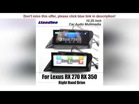 ☑Review Car Multimedia System For Lexus RX (AL10) 2008-2015 RX350 RX450h android carplay radio GPS | 02:00:34 | легкий монстр