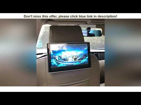 ☑Review In Car DVD Player Daul Screen Headrest With Monitor For Lexus GX Class Android TV Screen 11   02:00:35   гоголевский оттушёвывание