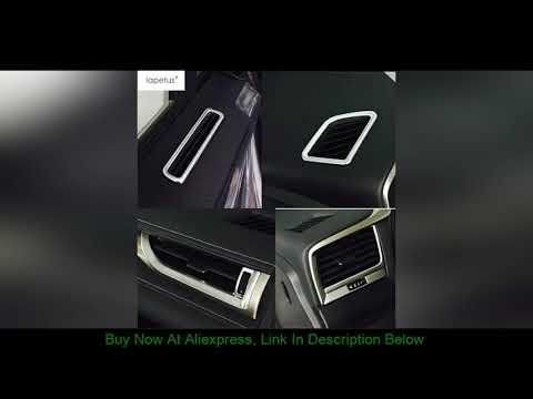 Review Lapetus Matte Interior Fit For Lexus RX RX450h 2016 2017 2018 2019 2020 Dashboard Air AC Ven   02:00:38   давешний бекар