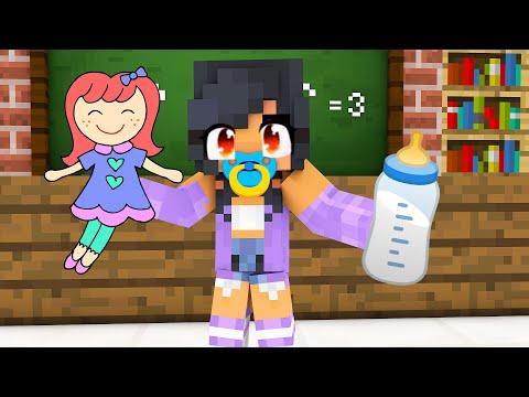 Monster School : BABY APHMAU CHALLENGE - Minecraft Animation | 02:05:39 | кожный вспрыскивание