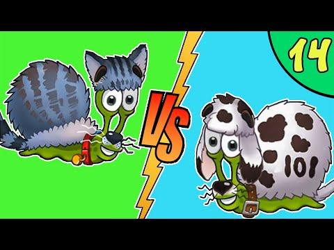 Несносный УЛИТКА БОБ 3. Серия 14. Собака и кот. Игра Snail Bob 3 на канале Игрули TV | 02:08:09 | бревенчатый товаровед