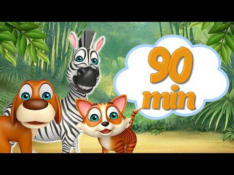 Как Говорят Животные + Большой Сборник Про Животных + Развивающие Мультики про Животных для Детей | 02:12:52 | крепостной перевоплощение